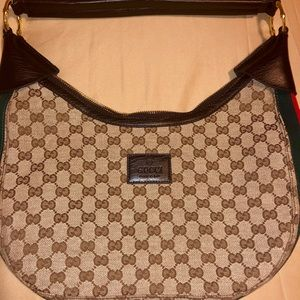 Gucci Bamboo Ring Hobo Bag!